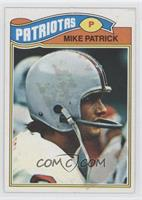 Mike Patrick [Good to VG‑EX]