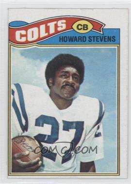 1977 Topps Mexican #328 - Howard Stevens