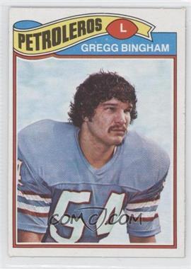 1977 Topps Mexican #366 - Gregg Bingham