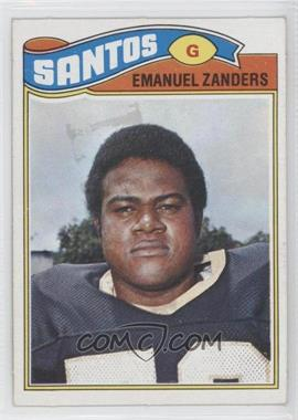 1977 Topps Mexican #396 - Emanuel Zanders