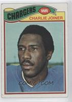 Charlie Joiner [Good to VG‑EX]