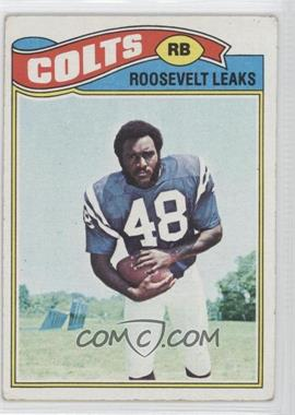 1977 Topps #171 - Roosevelt Leaks [Good to VG‑EX]