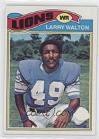 Larry Walton [Good to VG‑EX]