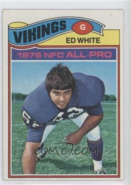 1977 Topps #30 - Ed White