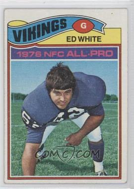 1977 Topps #30 - Ed White [Good to VG‑EX]