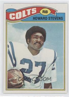 1977 Topps #328 - Howard Stevens
