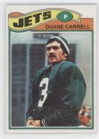 Duane Carrell [GoodtoVG‑EX]