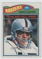 Dave Casper [Good to VG‑EX]