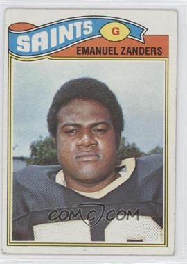 1977 Topps #396 - Emanuel Zanders