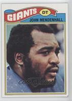 John Mendenhall