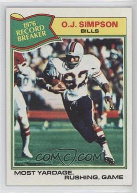 1977 Topps #453 - O.J. Simpson