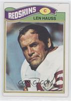 Len Hauss