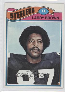 1977 Topps #51 - Larry Brown [GoodtoVG‑EX]