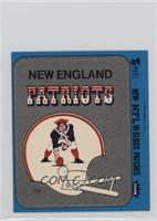 New England Patriots Helmet (Blue Border)