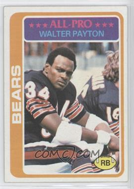 1978 Topps - [Base] #200 - Walter Payton