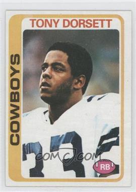 1978 Topps - [Base] #315 - Tony Dorsett