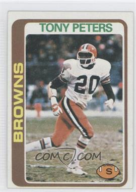 1978 Topps #113 - Tony Peters