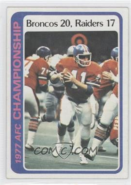 1978 Topps #167 - Denver Broncos Team