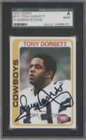 Tony Dorsett [SGC AUTHENTIC AUTO]
