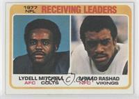 Lydell Mitchell, Am Rascher, Ahmad Rashad