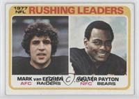 Mark van Eeghen, Walter Payton [Good to VG‑EX]