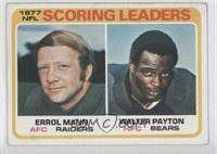 Errol Mann, Walter Payton [Poor to Fair]
