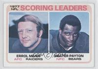 Errol Mann, Walter Payton [Good to VG‑EX]