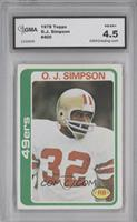 O.J. Simpson [ENCASED]