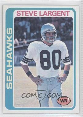 1978 Topps #443 - Steve Largent