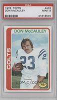 Don McCauley [PSA9]