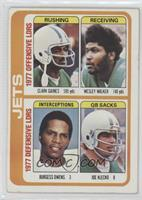 Clark Gaines, Wesley Walker, Burgess Owens, Joe Klecko [Good to VG&#8…