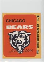 Chicago Bears Logo [Good to VG‑EX]