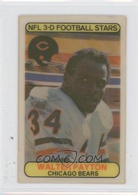 1979 Stop 'n Go NFL 3-D Football Stars - [Base] #6 - Walter Payton