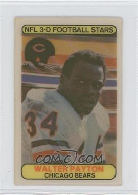 1979 Stop 'n Go NFL 3-D Football Stars #6 - Walter Payton