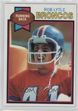 1979 Topps - [Base] #384 - Rob Lytle