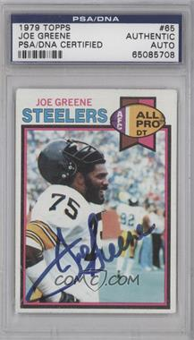 1979 Topps - [Base] #65 - Joe Greene [PSA/DNA Certified Auto]