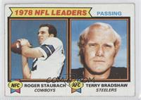 Passing Leaders (Roger Staubach, Terry Bradshaw) [Good to VG‑EX]