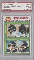 Bears Leaders Team Checklist (Walter Payton, James Scott, Gary Fencik, Alan Pag…