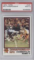 NFC Championship Game (Dallas Cowboys, Los Angeles Rams) [PSA9]