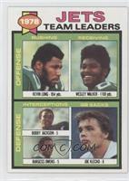 Kevin Long, Wesley Walker, Bobby Jackson, Burgess Owens, Joe Klecko