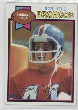 1979 Topps #384 - Rob Lytle [GoodtoVG‑EX]