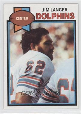 1979 Topps #425 - Jim Langer