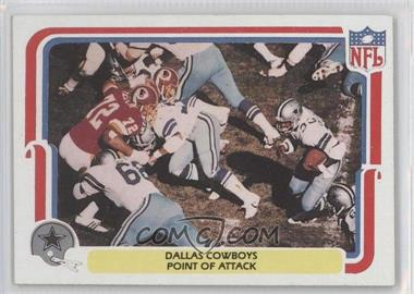 1980 Fleer NFL Team Action - [Base] #13 - Dallas Cowboys Point of Attack