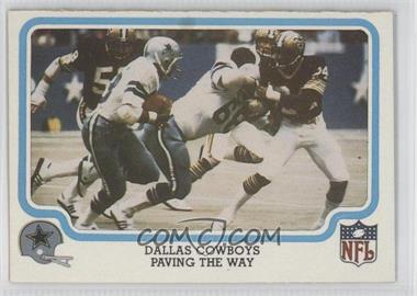 1980 Fleer NFL Team Action #13 - Dallas Cowboys Point of Attack