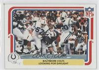 Baltimore Colts Looking for Daylight