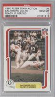 Baltimore Colts Ready If Needed [PSA10]