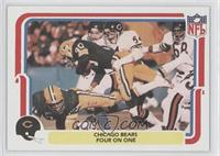 Chicago Bears Four on One