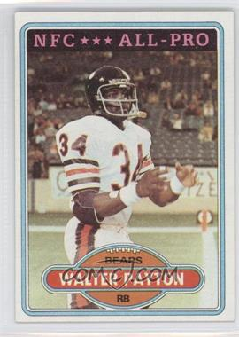 1980 Topps - [Base] #160 - Walter Payton