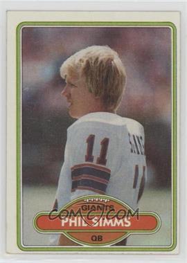 1980 Topps - [Base] #225 - Phil Simms