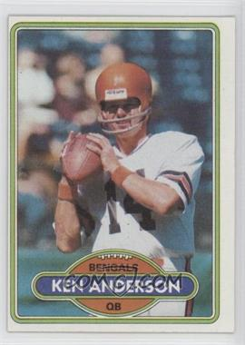 1980 Topps - [Base] #388 - Ken Anderson